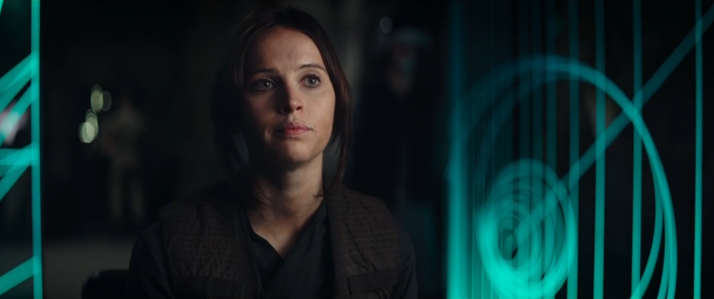 Rogue One - A Star Wars Story: Felicity Jones è Jyn nel teaser trailer del film