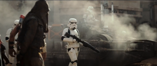 Rogue One - A Star Wars Story: trooper in ricognizione nel teaser trailer del film