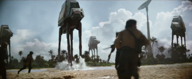 Rogue One - A Star Wars Story: AT-AT in battaglia nel teaser trailer del film