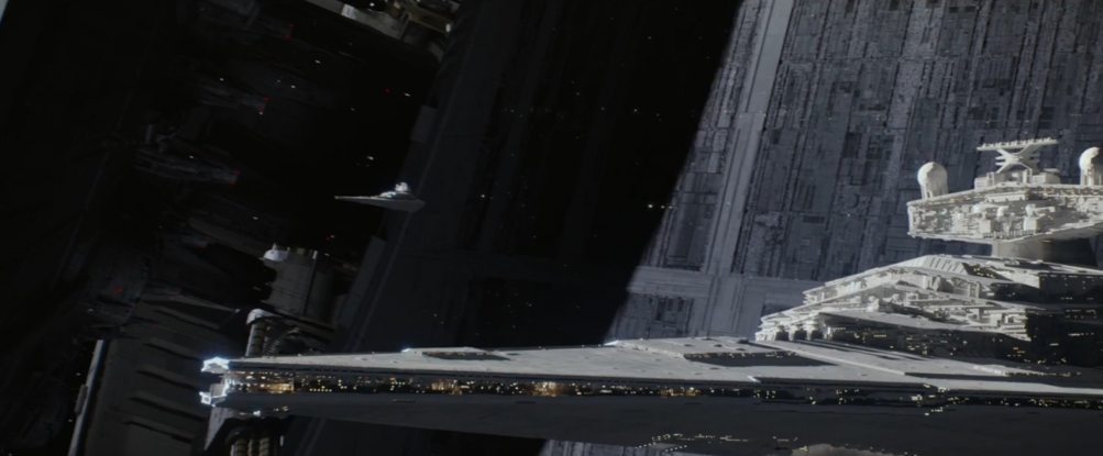 Rogue One - A Star Wars Story: uno Star Destroyer nel teaser trailer del film