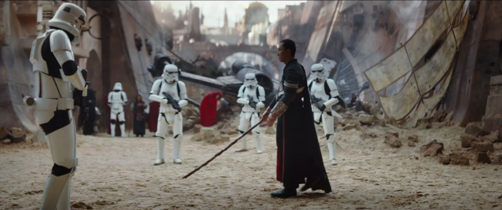 Rogue One - A Star Wars Story: Donnie Yen nel teaser trailer del film