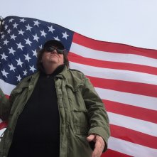 Where to Invade Next: Michael Moore in un momento del documentario