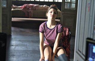 Ballad in Blood: Carlotta Morelli in una scena del film
