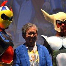 Romics 2016: Go Nagai con due cosplayer
