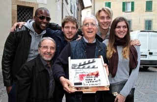 Ballad in Blood: Ruggero Deodato e il cast del film a Lucca