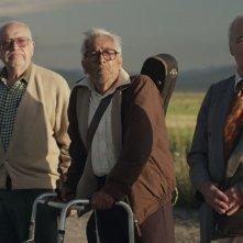 Cinque tequila: Luis Bayardo, Eduardo Manzanos Brochero, José Carlos Ruiz in una scena del film