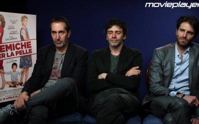 Nemiche per la pelle: Video intervista a Giampaolo Morelli, Paolo Calabresi e Luca Lucini
