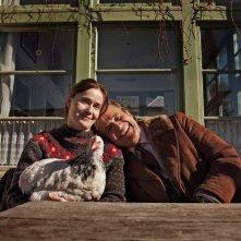 Fräulein - Una fiaba d'inverno: Lucia Mascino e Christian De Sica in una foto promozionale del film