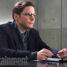 Captain America: Civil War - Un primo sguardo a Helmut Zemo, interpretato da Daniel Bruhl