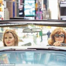Susan Sarandon e Geena Davis rievocano THelma e Louise su Harper's Bazaar nel 2016