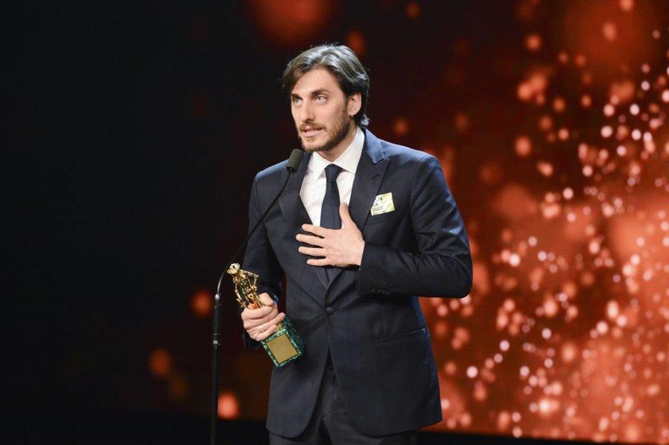 David 2016, Luca Marinelli premiato per Lo chiamavano Jeeg Robot