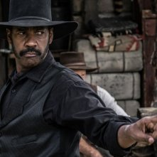 The Magnificent Seven: Denzel Washington in un'immagine del film