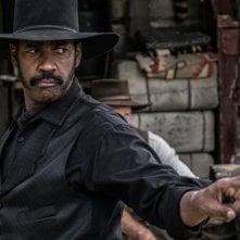 The Magnificent Seven: Denzel Washington in un'immagine del film