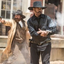 The Magnificent Seven: l'immagine di una sparatoria