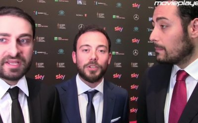David 2016 - Cattelan e The Jackal sul red carpet