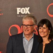 Outcast: i produttori Chris Black e Sharon Tal sul red carpet della premiere europea