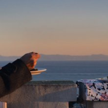 La buona uscita: Marco Cavalli in una scena del film
