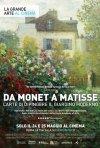 Locandina di Da Monet a Matisse, l'arte di dipingere il giardino moderno