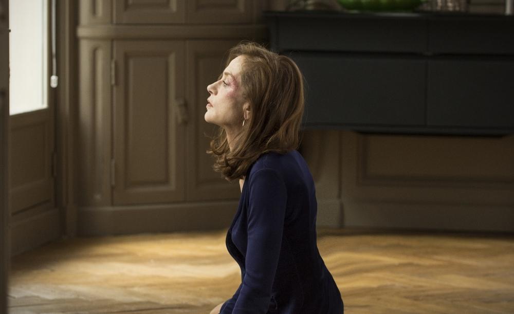 Elle: Isabelle Huppert in una scena del film