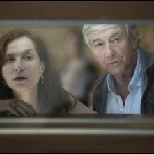 Elle: Isabelle Huppert e Paul Verhoeven in un'immagine dal set