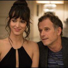 Elle: Vimala Pons e Charles Berling in una scena del film