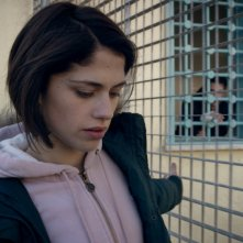 Fiore: Daphne Scoccia in una scena del film