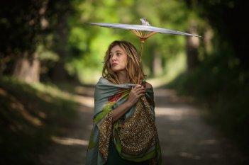La pazza gioia: Valeria Bruni Tedeschi in una scena del film