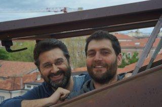 L'ultima spiaggia: Thanos Anastopoulos e Davide Del Degan in un'immagine promozionale