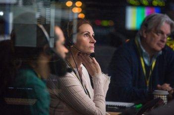 Money Monster: Jodie Foster con George Clooney sul set