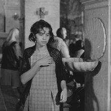 Mouchette - Tutta la vita in una notte: Nadine Nortier in chiesa in una scena del film
