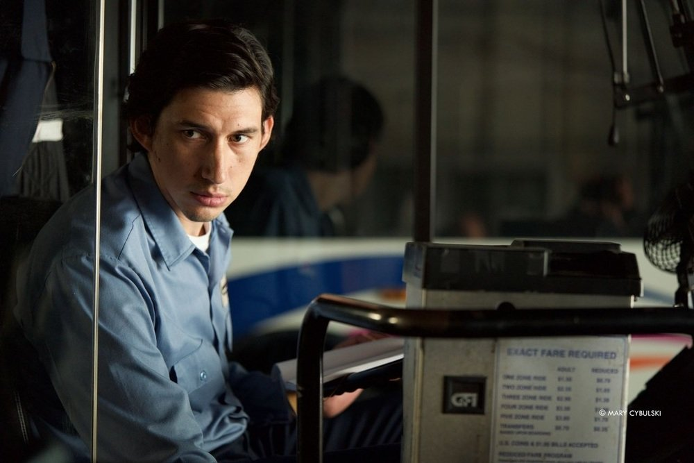Paterson: Adam Driver in una scena del film