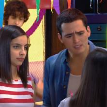 Io sono Franky: una scena della soap con Maria Gabriela de Faria