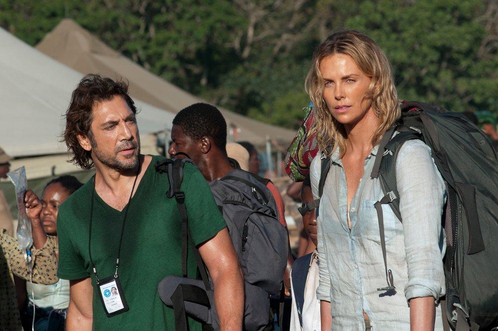 The Last Face: Javier Bardem e Charlize Theron sul set del film