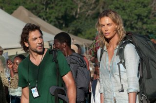 The Last Face: Javier Bardem e Charlize Theron sul set del film