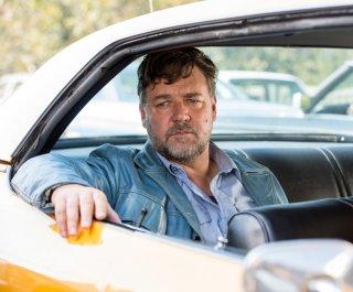 The Nice Guys: Russell Crowe in una scena del film