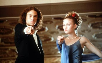 10 cose che odio di te, una scena con Heath Ledger e Julia Stiles
