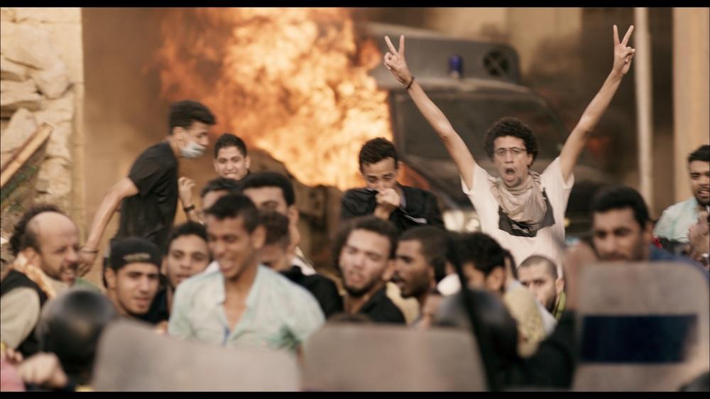 Clash: una scena del film