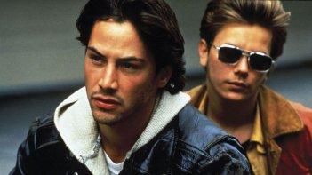 Belli e dannati: un'immagine con Keanu Reeves e River Phoenix