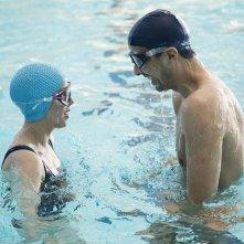 L'effet aquatique: Samir Guesmi e Florence Loiret Caille in una scena del film