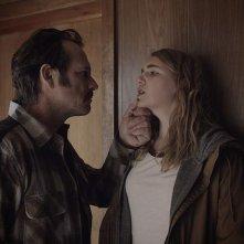 Mean Dreams: Sophie Nélisse e Bill Paxton in una scena del film