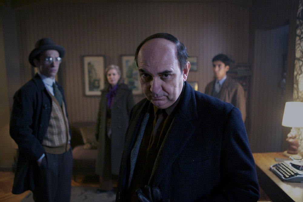 Neruda: Luis Gnecco in una scena del film