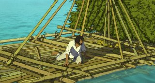Red Turtle: un'immagine del film animato