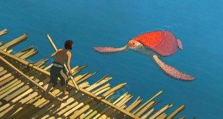 Red Turtle: una scena del film d'animazione