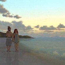 Red Turtle: un'immagine del film d'animazione