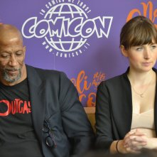 Comicon 2016: Kate Lyn Sheil e Reg E. Cathey in uno scatto alle interviste