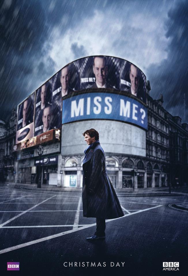 Sherlock: un poster promozionale per la quarta stagione