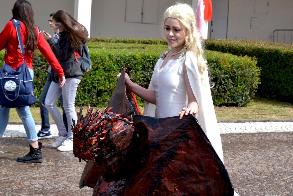 Comicon 2016: cosplayer ispirato a Daenerys Targaryen