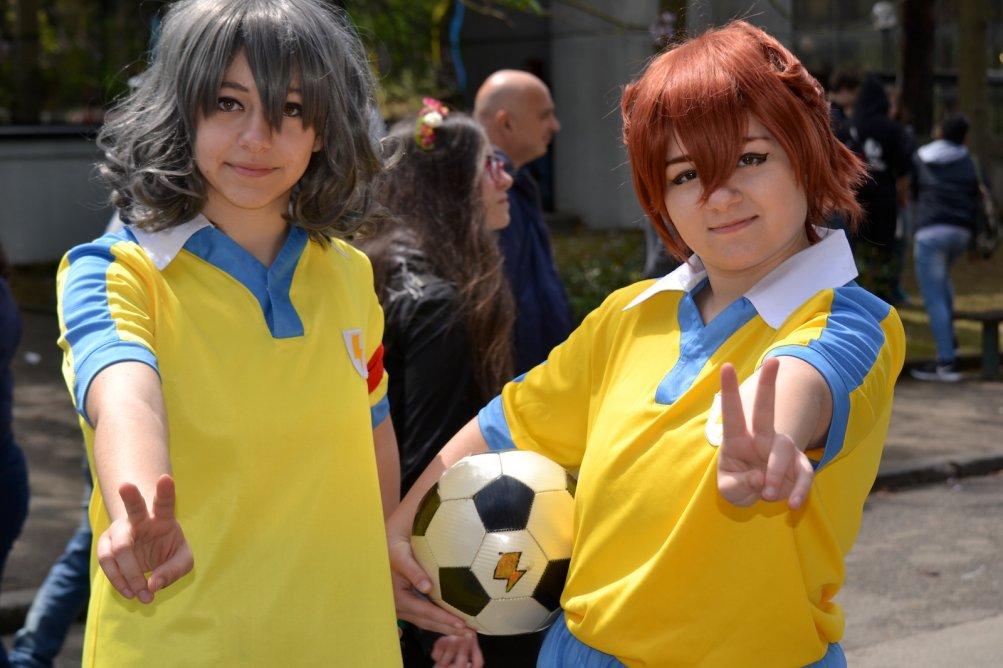 Comicon 2016: due giovani cosplayer l'ultima giornata della manifestazione