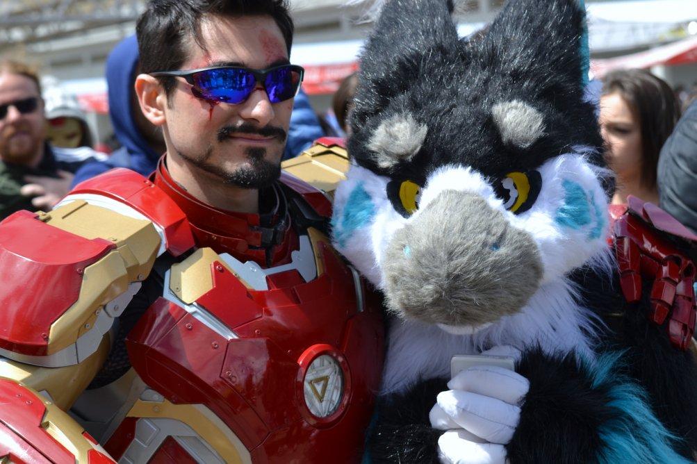 Comocon 2016: Iron man in soffice compagnia