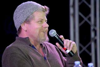 Comicon 2016: Michael Cudlitz sorridente risponde alle domande dei fan
